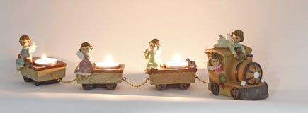 Поезд рождества стоковое изображение rf