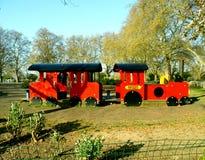 Поезд спортивной площадки Стоковое фото RF