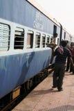 поезд станции Индии Стоковое фото RF