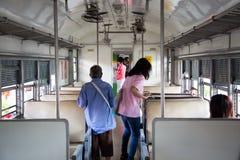 поезд станции туристский Стоковые Фотографии RF