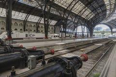 поезд станции barcelona Стоковое Изображение RF
