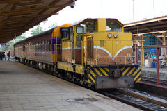 Поезд Таиланда 1 стоковые изображения rf