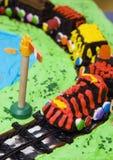 поезд торта Стоковое Изображение