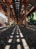 Поезд Чикаго el Стоковое Изображение RF