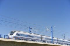 Поезд AVE Стоковое фото RF