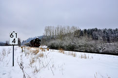 Поезд i пара Стоковое фото RF