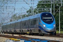 Поезд Pendolino Стоковые Изображения RF