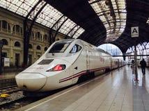 Поезд Renfe Стоковое фото RF