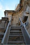Пожарная лестница металла. Стоковое Изображение RF