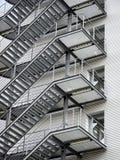 Пожарная лестница стоковая фотография rf
