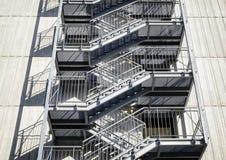 Пожарная лестница стоковое изображение rf