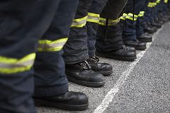 Пожарная команда Стоковые Изображения