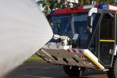 Пожарная машина авиапорта Стоковая Фотография