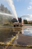 Пожарная машина авиапорта Стоковое Изображение RF
