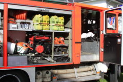 Пожарная машина аксессуаров Стоковое Изображение RF