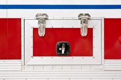 пожарная машина детали Стоковая Фотография