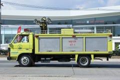 Пожарная машина, легкая тележка Subdistrict Maejo административная или Стоковое Фото