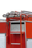 пожарная машина заднего конца Стоковые Фото