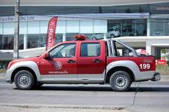 Пожарная машина организации Subdistrict Maerim административной Стоковые Изображения