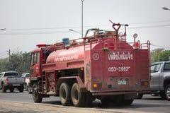 Пожарная машина организации Subdistrict Nongjom административной Стоковая Фотография RF