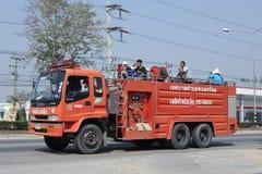 Пожарная машина организации Subdistrict Nongjom административной Стоковые Изображения