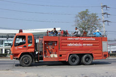 Пожарная машина организации Subdistrict Nongjom административной Стоковые Изображения RF