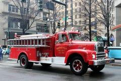 Пожарная машина отделения пожарной охраны Бедфорда Стоковое Изображение RF