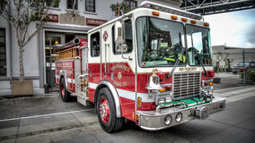 Пожарная машина Сан-Франциско Стоковое фото RF