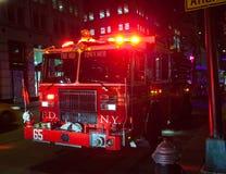 Пожарная машина FDNY Двигателя Компании 65 Стоковые Фото