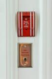 Пожарная сигнализация Стоковые Изображения RF