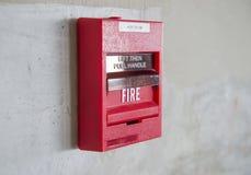Пожарная сигнализация стоковое изображение