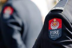 Пожарная служба Новой Зеландии стоковое фото