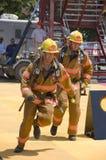 пожарные действия Стоковое фото RF