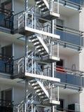 Пожарные лестницы Стоковые Изображения
