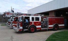 Пожарные машины Стоковое фото RF