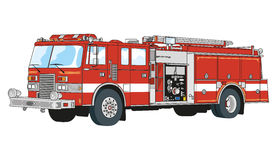 Пожарные Иллюстрация вектора