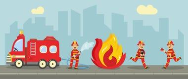 Пожарный вектора туша концепцию огня бесплатная иллюстрация