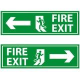Пожарный выход Стоковое Изображение RF