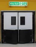 Пожарный выход Стоковые Фото