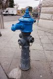 Пожарный гидрант на улице Вены стоковое изображение rf