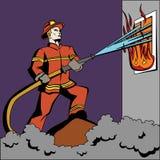 Пожарный искусства шипучки иллюстрация вектора