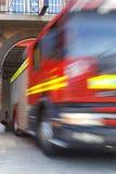 Пожарный на огне Стоковые Фотографии RF