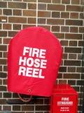 Пожарный рукав и гаситель Стоковая Фотография