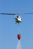 Пожаротушение вертолета Стоковое Фото