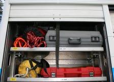 пожар аварийного оборудования Стоковое фото RF