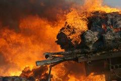 пожар бедствия Стоковая Фотография RF