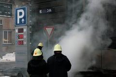 пожар бригады Стоковые Фотографии RF