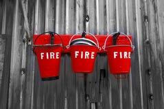 пожар ведер Стоковая Фотография RF