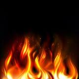 Пожар вектора Стоковое Изображение