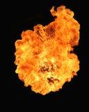 пожар взрыва стоковое изображение
